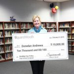 WGXA, Feb 27 2019 – Upson-Lee HS teacher awarded $10K check for reading the fine print