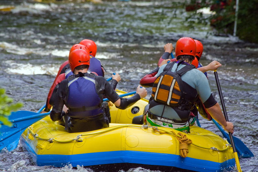Leisure Whitewater Rafting